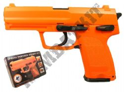 HA112 Airsoft BB Gun Black and Orange
